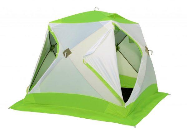 Фото Зимняя палатка Лотос Куб 3 Классик