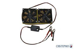 Фото Кассета из двух вентиляторов для СТ-1,6; 2,3 с диммером